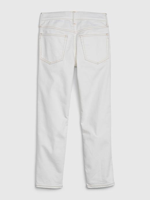 Erkek Çocuk Beyaz Leke Tutmayan Slim Jean Pantolon