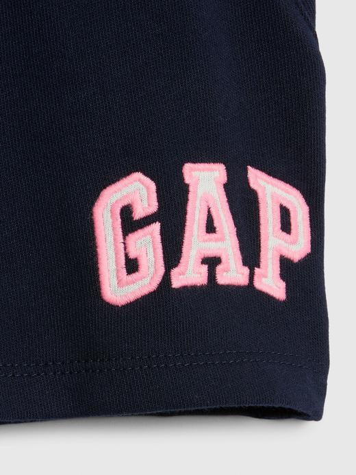 Kız Çocuk Bej Gap Logo Pull-On Şort