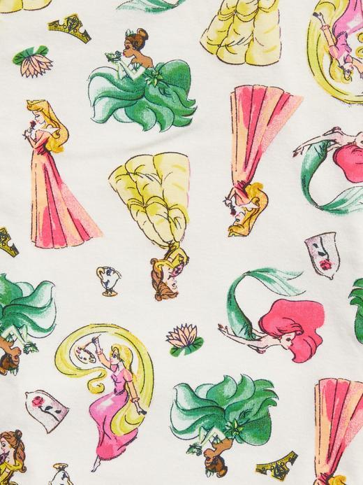 Kız Bebek Bej Disney Princess Pijama Takımı