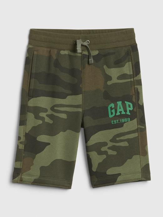 Erkek Çocuk Yeşil Gap Logo Şort