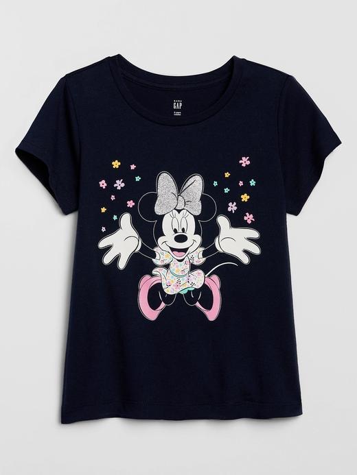 Kız Bebek Lacivert Disney Minnie Mouse T-Shirt