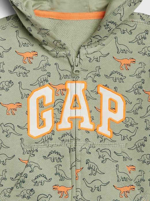Erkek Bebek Gri Gap Logo Brannan Sweatshirt