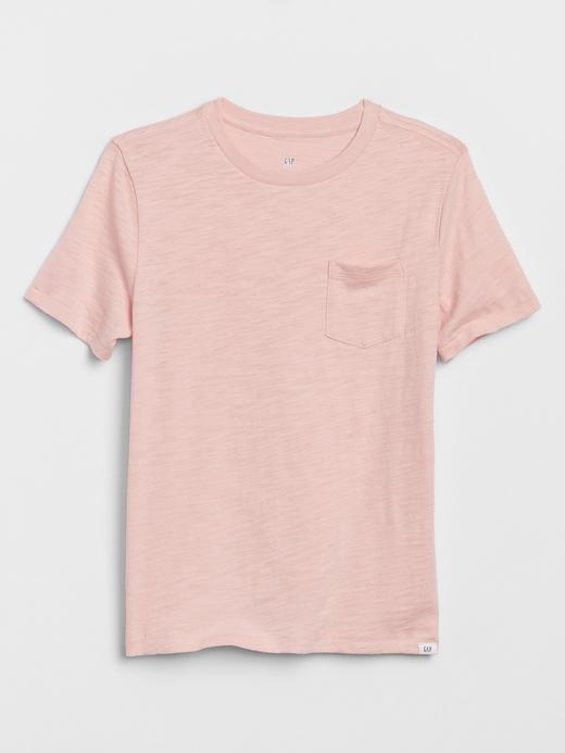 Erkek Çocuk Pembe Kısa Kollu T-Shirt