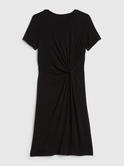 Kadın Yeşil TENCEL™ Düğümlü Elbise