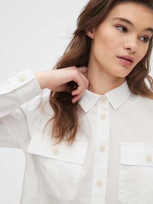 Kadın Pembe Uzun Kollu Gömlek