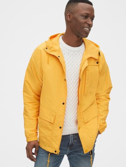 Erkek Sarı Utility Ceket