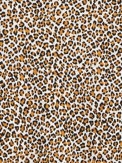 Kadın Kahverengi Desenli Slim T-Shirt