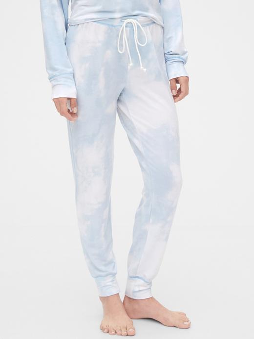 Kadın Mavi Supersoft Pijama Altı