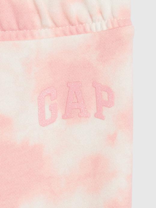 Kız Bebek Pembe Gap Logo Eşofman Altı