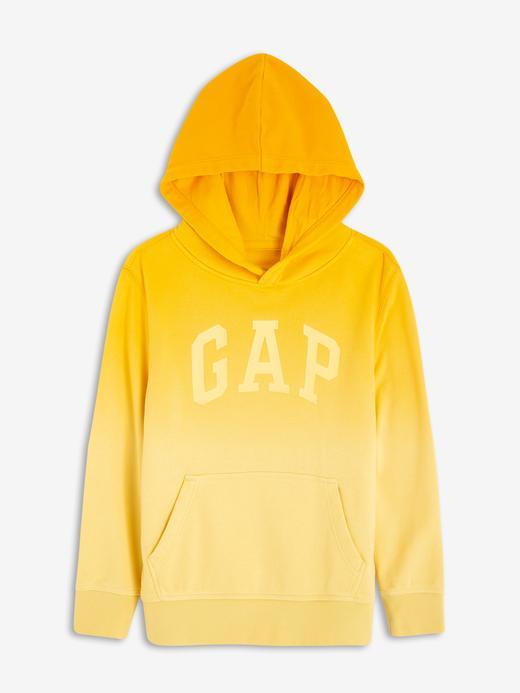Erkek Çocuk Sarı Gap Logo Kapüşonlu Sweatshirt