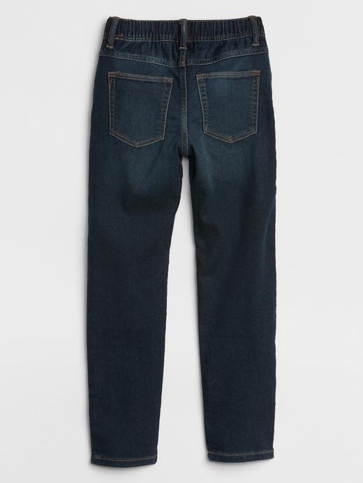 Erkek Çocuk Lacivert Fantastiflex Pull-On Jean Pantolon