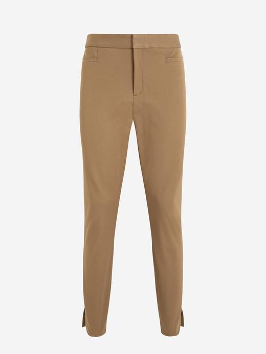 Kadın Kahverengi Sloan Skinny-Fit Yıkanabilir Pantolon