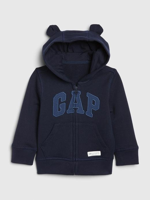 Erkek Bebek Lacivert Gap Logo Brannan Bear Sweatshirt