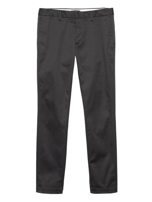 Erkek Gri Fulton Skinny Chino Pantolon