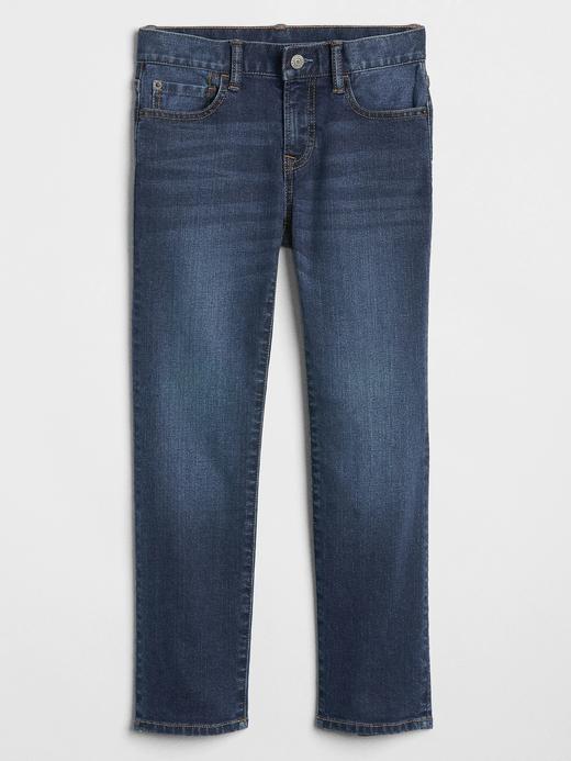 Erkek Çocuk Mavi Straight Jean Pantolon