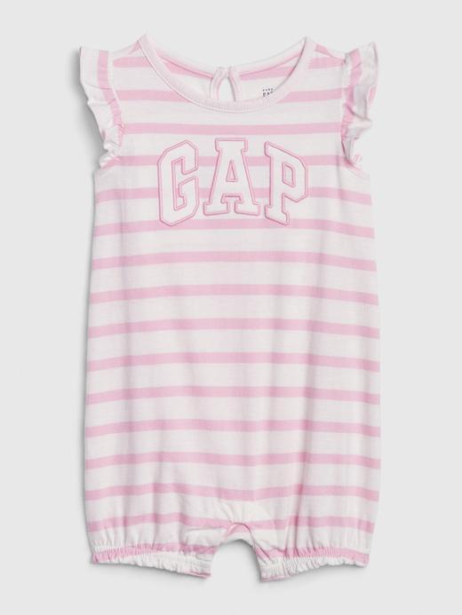 Kız Bebek Pembe Gap Logo Tulum
