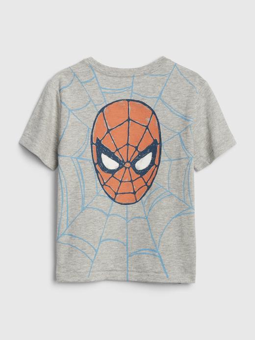 Erkek Bebek Gri Marvel© Kısa Kollu T-Shirt