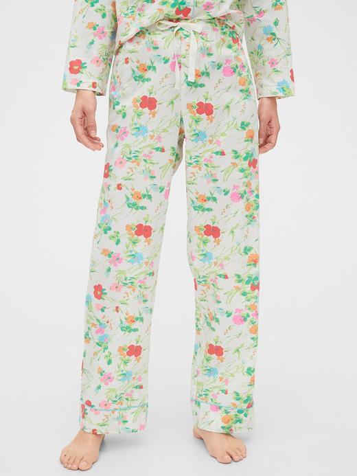 Kadın Yeşil Relaxed Pijama Altı