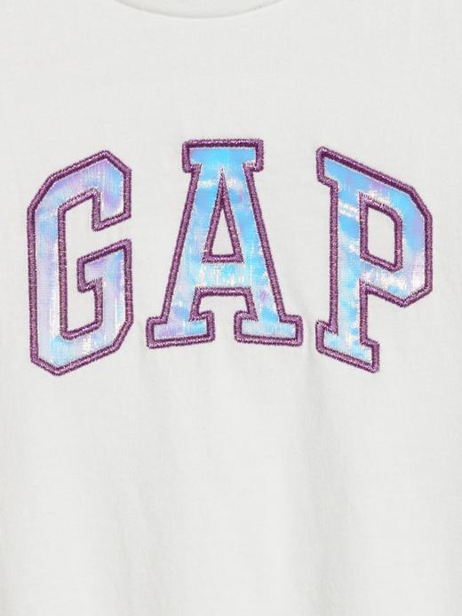 Kız Bebek su yeşili Gap Logo Kısa Kollu T-Shirt