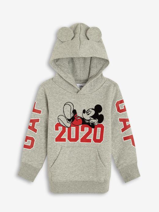 Erkek Bebek Gri Disney Mickey Mouse Sweatshirt