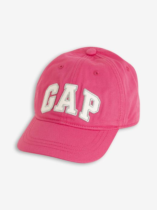 Kız Çocuk Pembe Gap Logo Beyzbol Şapkası