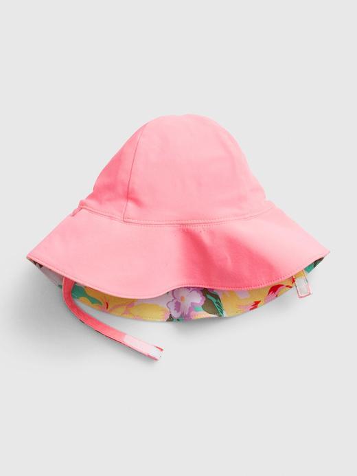 Kız Bebek Çok renkli Çift Taraflı Deniz Şapkası