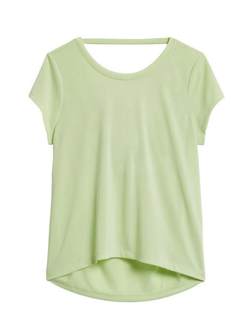 Kadın Yeşil Sandwash Modal T-Shirt