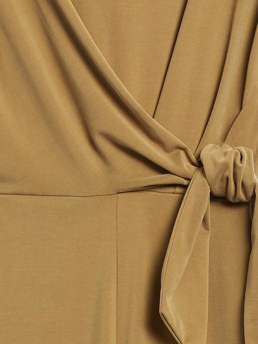 Kadın Yeşil Sandwash Cropped Tulum