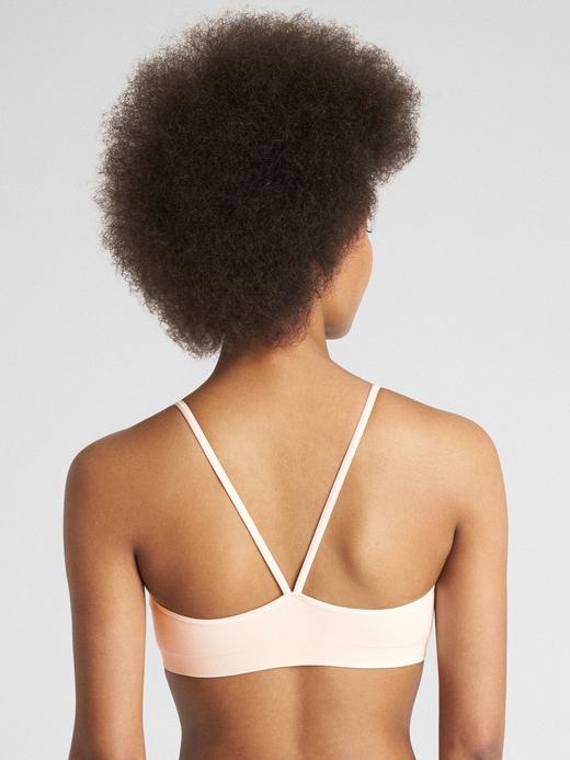 Kadın Beyaz Dikişsiz Askılı Bralet
