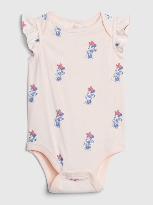 Kız Bebek Pembe Disney Minnie Mouse Body