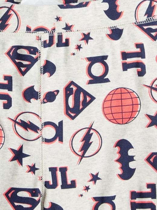 Erkek Çocuk Gri DC ™ Desenli Pijama Takımı