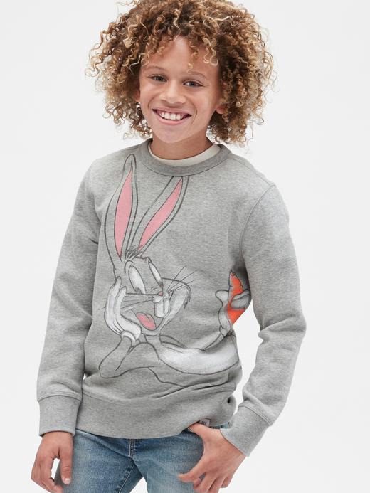 Erkek Çocuk Gri WB Looney Tunes Sweatshirt