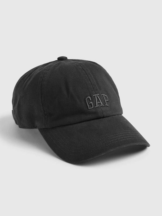 Erkek Siyah Gap Logo Beyzbol Şapkası