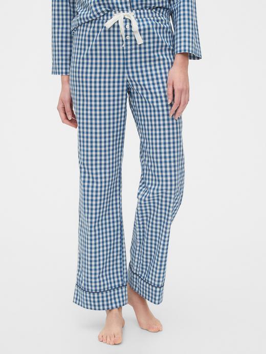Kadın Lacivert Relaxed Pijama Altı
