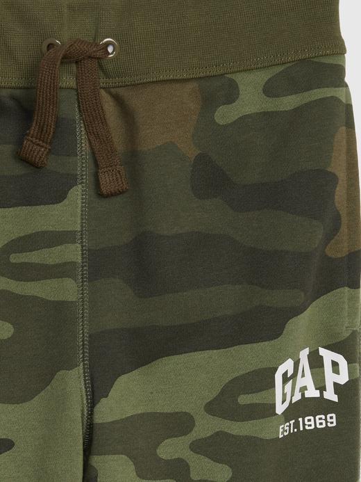 Erkek Çocuk Yeşil Gap Logo Eşofman Altı