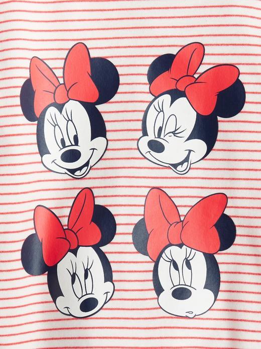 Kız Bebek Pembe Disney Minnie Mouse Pijama Takımı
