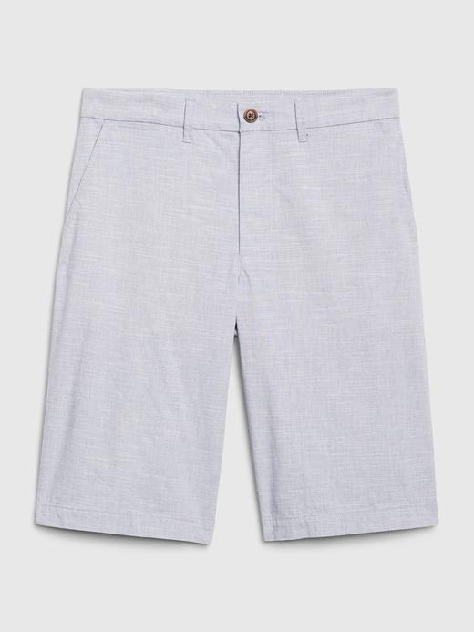 Erkek açık mavi GapFlex Vintage Khaki Şort