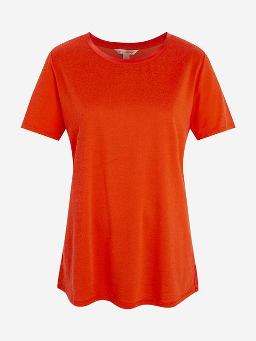 Kadın Kırmızı Kısa Kollu T-Shirt
