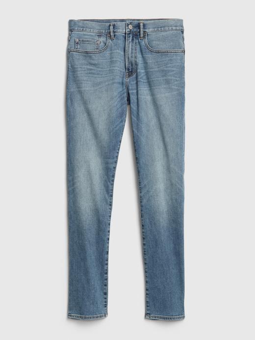 Erkek Mavi GapFlex Wearlight Slim Jean Pantolon