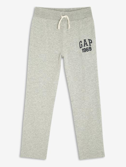 Erkek Çocuk Gri Gap Logo Polar Eşofman Altı