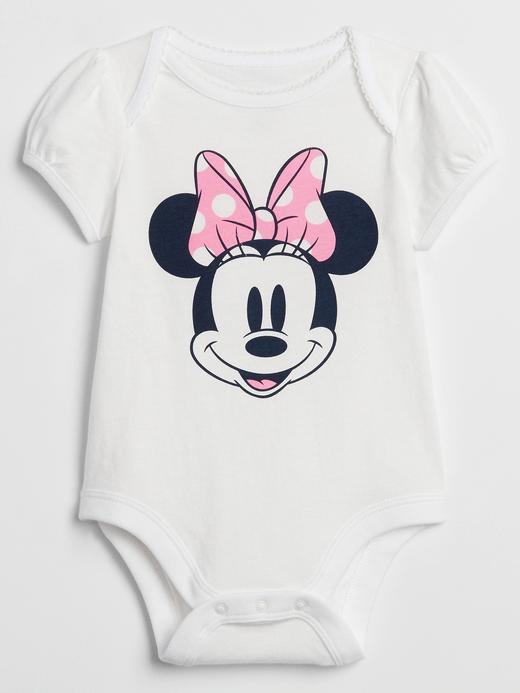 Kız Bebek Beyaz Disney Micky Mouse Body