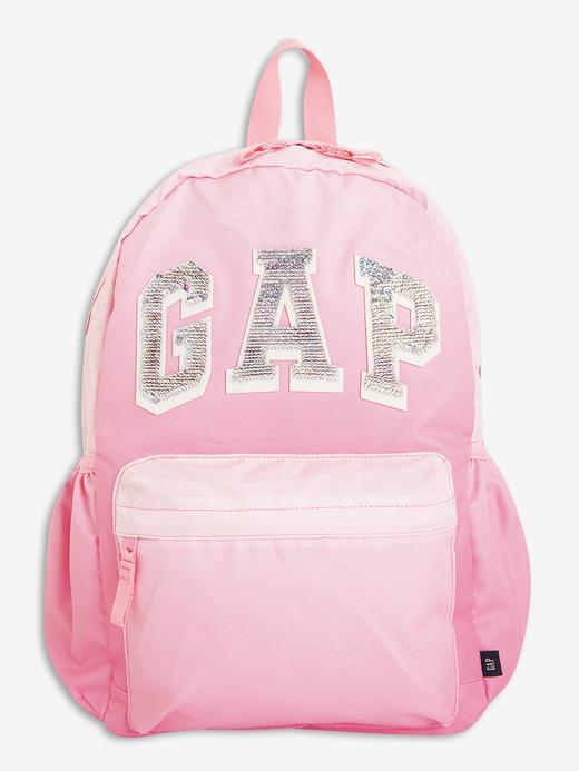 Kız Çocuk Pembe Gap Logo Sırt Çantası