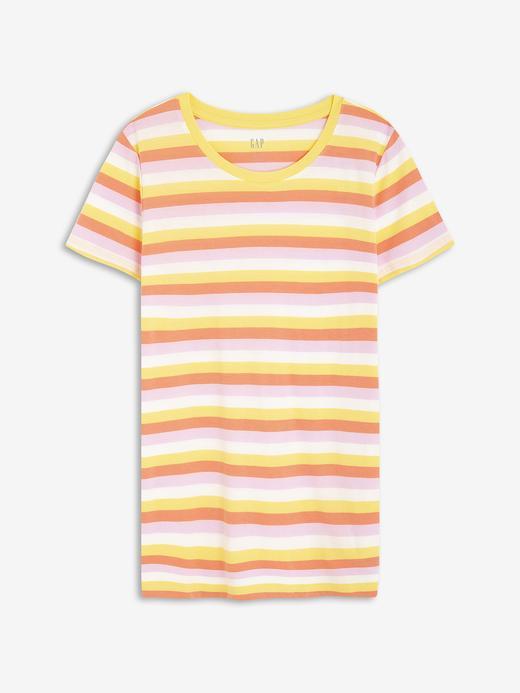 Kadın Sarı Favorite Yuvarlak Yaka T-Shirt