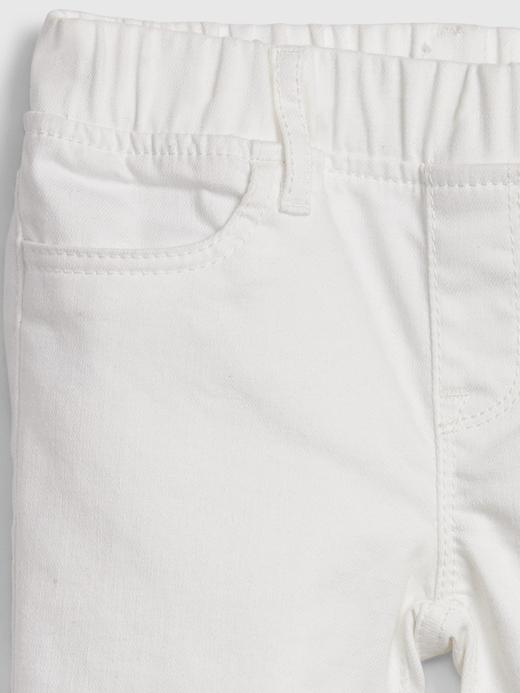 Kız Çocuk Beyaz Leke Tutmayan Jegging Jean Pantolon
