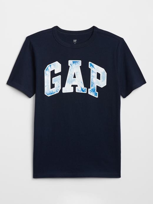 Erkek Çocuk Lacivert Grafik Kısa Kollu T-Shirt