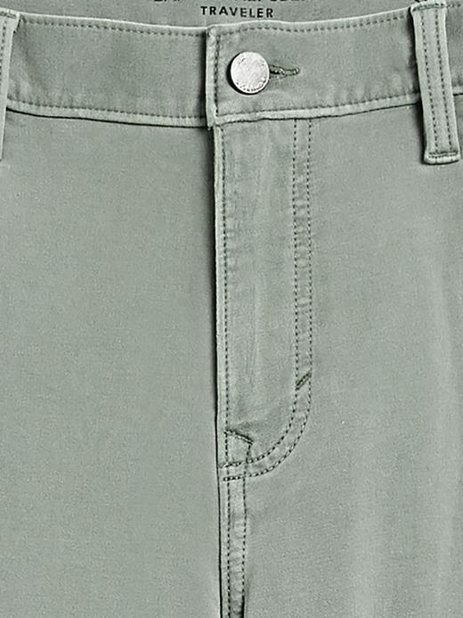 Erkek Mavi Slim Traveler Pantolon
