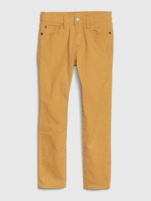 Erkek Çocuk Kahverengi Skinny Jean Pantolon