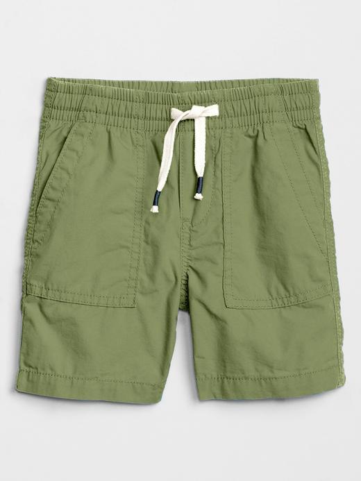 Erkek Bebek Yeşil Pull-On Şort