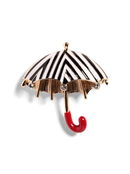 Kadın altın Şemsiye Broş