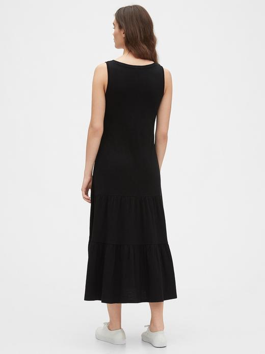Kadın Sarı Askılı Maxi Elbise